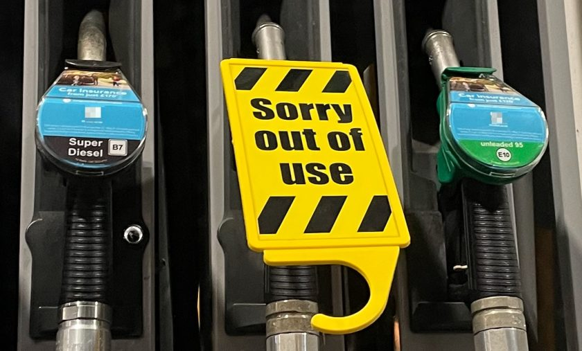 """""""There is no fuel shortage"""" say Local Resilience Forum who report care workers receiving verbal abuse on forecourts"""