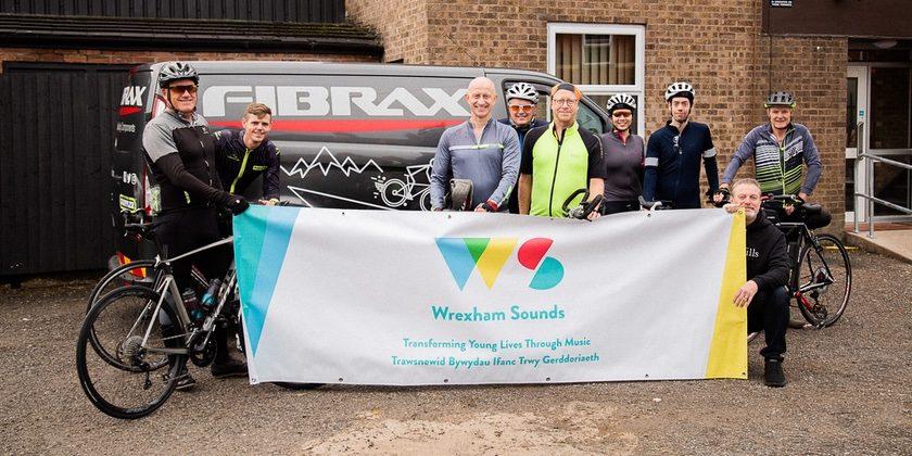 Wrexham cyclists smash target on 250-mile bike ride for disadvantaged children